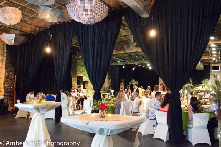 Filament wedding event