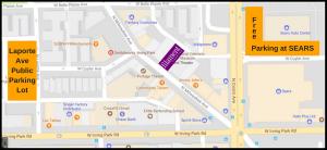 Laporte Ave Public Parking Lot